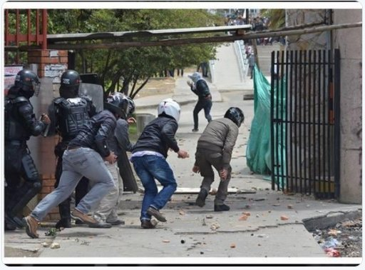 Plain clothes police stoking violence