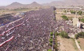 Yemenis Mark the War's 3rd Anniversary