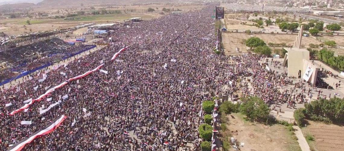 Yemenis Mark the War's 3rd Anniversary